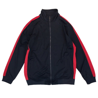 Rebel Minds Track Jacket (Navy/Red) - Fashion Landmarks