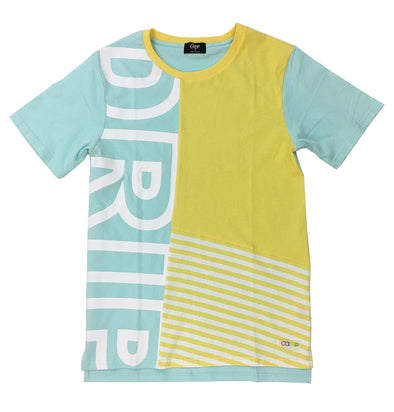 CAMP DRIP TEE (Yellow) - Fashion Landmarks