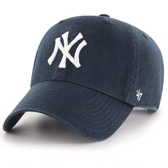 47 Brand CLEAN UP New York Yankees Navy Dad Hat