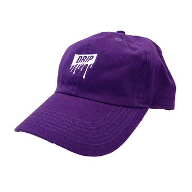 Superline Drip Dad Hat (Purple/White)