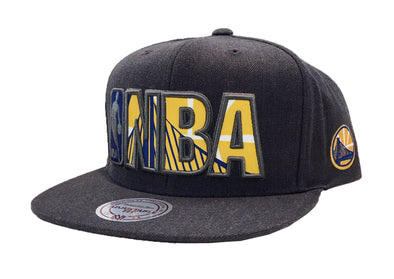 Mitchell & Ness Insider Reflective Snapback Golden States Warriors