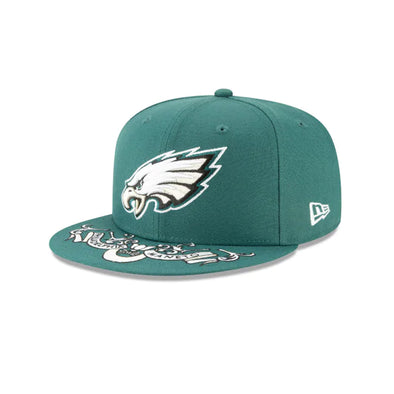 NEW ERA Philadelphia Eagles NFL19 Draft OTC Snapback Hat - Fashion Landmarks