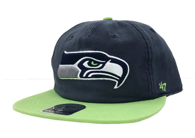 47 Brand Seattle Seahawks Marvin 47 Captain RF Snapback Hat - Fashion Landmarks