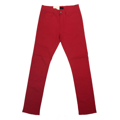 Octagon Red Slim Chino Pant - Fashion Landmarks