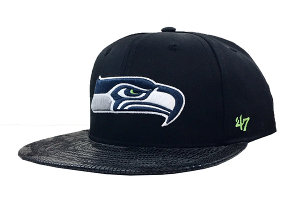47 Brand Seattle Seahwaks Chuckwalla 47 Captain Strapback Hat - Fashion Landmarks