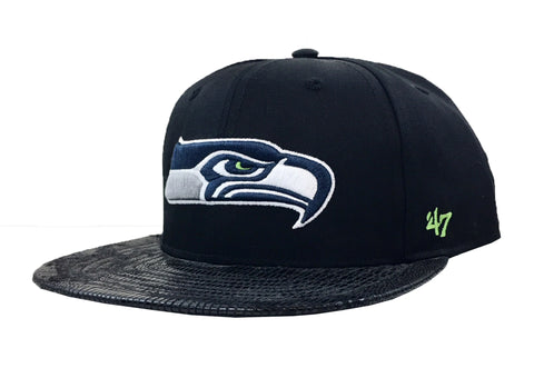 47 Brand Seattle Seahwaks Chuckwalla 47 Captain Strapback Hat