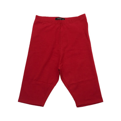 Red Fox Women's Biker Short (Red) - Fashion Landmarks