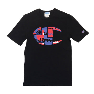 Champion Life Tidal Waves Tee (Black) - Fashion Landmarks