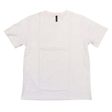 Rich Cotton Premium Round Neck Plain Tee (White)