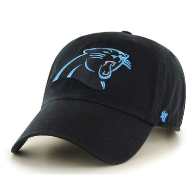 47 Brand Carolina Panthers Clean Up Dad Hat - Fashion Landmarks