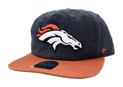 47 Brand Denver Broncos Marvin 47 Captain RF Snapback Hat - Fashion Landmarks