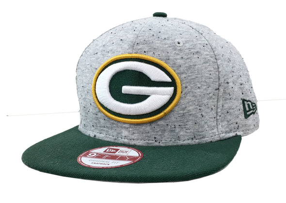 New Era New Green Bay Packers Heath Spec 9500F Snapback Hat - Fashion Landmarks