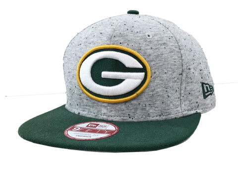 New Era New Green Bay Packers Heath Spec 9500F Snapback Hat
