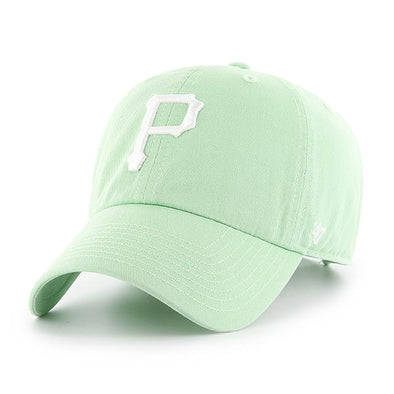 47 Brand CLEAN UP Pittsburgh Pirates Hemlock Dad Hat - Fashion Landmarks