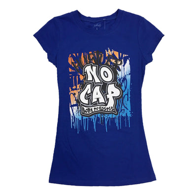 3Forty No Cap Woman Tee (Blue)