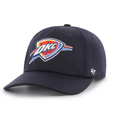 47 Brand OKLAHOMA CITY THUNDER THREE POINT '47 CLEAN UP MF Dad Hat
