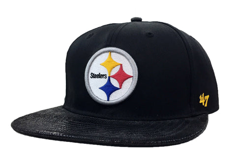 47 Brand Pittsburgh Steelers Chuckwalla 47 Captain Strapback Hat