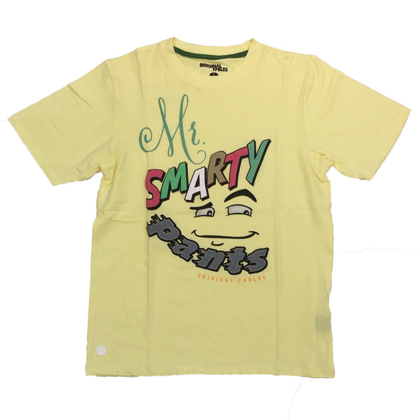 Original Fables Mr. Smarty Tee (Yellow)
