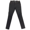 Upstreamers Side Pocket Biker Jean (Black)