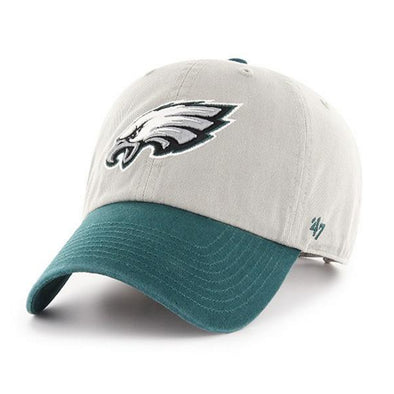 47 Brand Philadelphia Eagles Two Tone Dad Hat - Fashion Landmarks