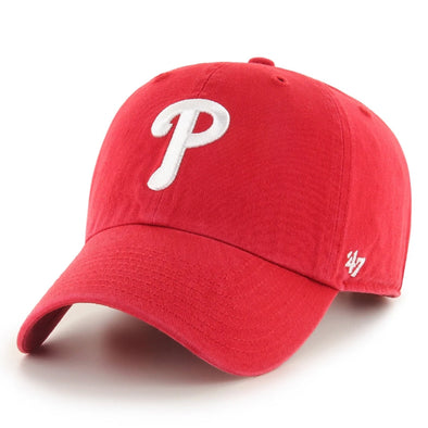 47 Brand Clean Up Philadelphia Phillies Red Dad Hat