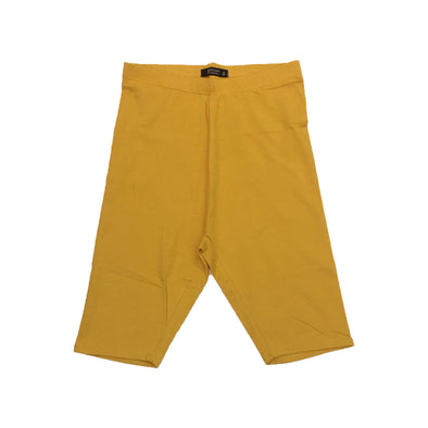Red Fox Women's Biker Short (Mustard) - Fashion Landmarks