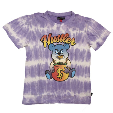 Black Pike Hustler Tie Dye Tee (Purple)