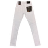 Copper Rivet Icon Jean (White)