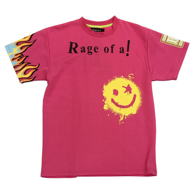 Rage of a Rebellion Pink Tee - Fashion Landmarks