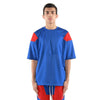 EPTM ENGINEERED COLOR BLOCK TEE (Blue/Red) - Fashion Landmarks