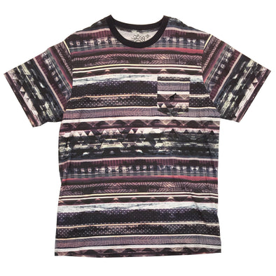 LRG Multi Stripe Pocket Tee - Fashion Landmarks