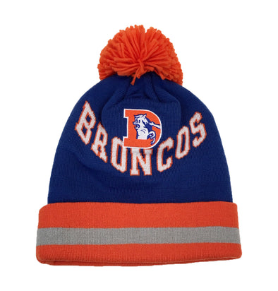 Mitchell and Ness NFL Denver Broncos Beanie - Fashion Landmarks