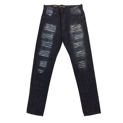 South Pole Dark Indigo Ripped Jean - Fashion Landmarks