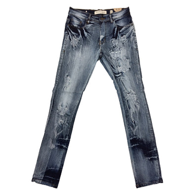 Evolution Ripped Jean (Blue)