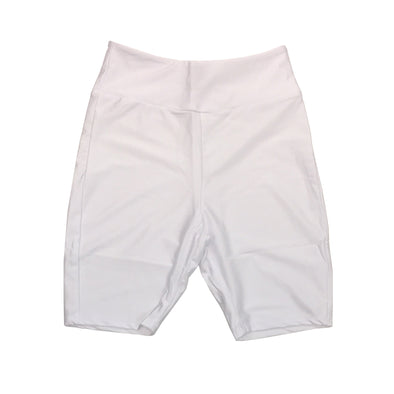 Red Fox Women's Biker Short (White)
