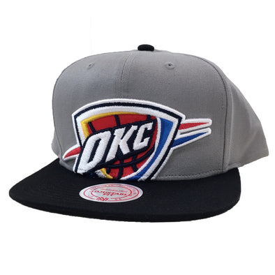 Mitchell & Ness Oklahoma City Thunder XL Logo Snapback Hat