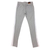 Royal Blue Single Strip Track Pant (Grey/White) - Fashion Landmarks