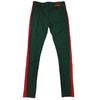 Royal Blue Single Strip Track Pant (Green/Red) - Fashion Landmarks