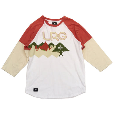 LRG Unchanged Raglan Tee (White) - Fashion Landmarks