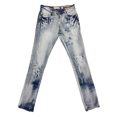 Evolution Ripped Jean (Ice Blue)