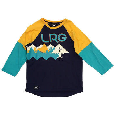 LRG Unchanged Raglan Tee (Navy) - Fashion Landmarks