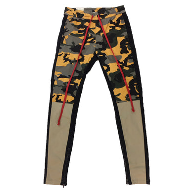 KAYDEN K Single Strip Twill Pant (Yellow Camo/Kahki)