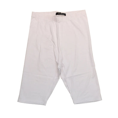 Red Fox Women's Biker Short (White) - Fashion Landmarks