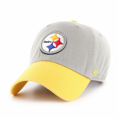 47 Brand Pittsburgh Steelers Two Tone Dad Hat - Fashion Landmarks