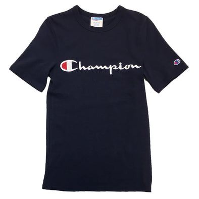 Champion Life Jock Tag Tee (Navy) - Fashion Landmarks
