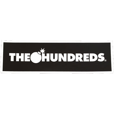 The Hundreds Logo Sticker (Black)