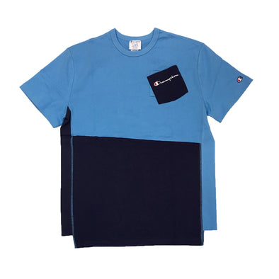CHAMPION LIFE POCKET TEE (Blue) - Fashion Landmarks