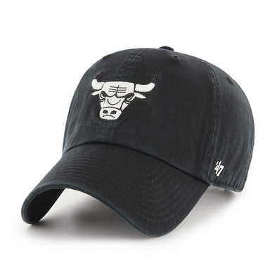 Chicago Bulls Black Clean Up 47 Dad Hat - Fashion Landmarks