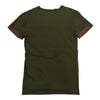Henry & William Brown Suede Tee (Olive) - Fashion Landmarks