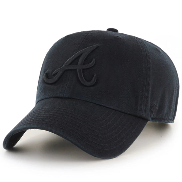 47 Brand Atlanta Braves Clean Up Dad Hat